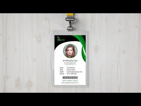 Fresh Corporate ID Card Design - Photoshop Tutorial thumbnail