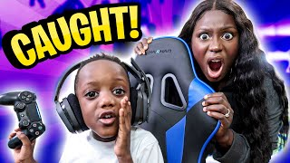 SKIPPED School To Play FORTNITE ALL DAY!! *Mom CAUGHT Me*