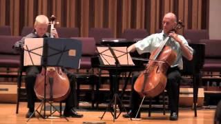 Thomas and Rodney play Mozart duo