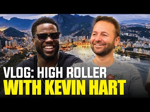 VLOG: $100k Monte Carlo Super High Roller with Kevin Hart