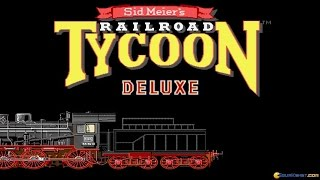 Railroad Tycoon Deluxe gameplay (PC Game, 1993)