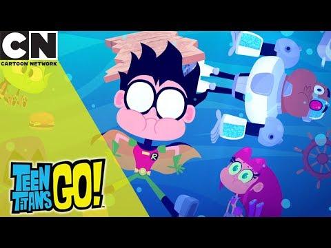 Teen Titans Go! | Five Whole Days | Cartoon Network