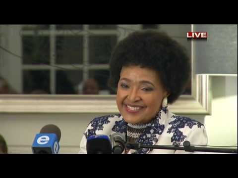 Winnie's 80th birthday speech
