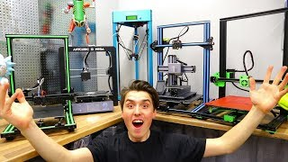 MASSIVE 3D Printer Comparison - Best 3D Printer 2018