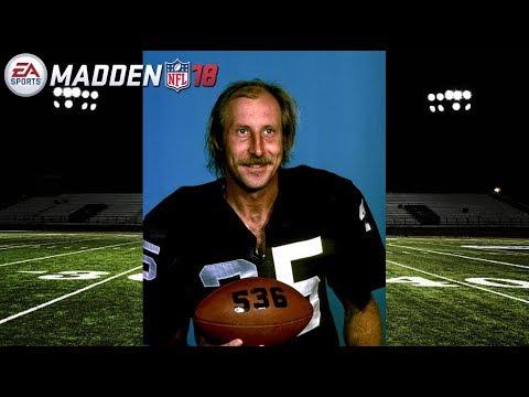 Madden 18 | Fred Biletnikoff Crazy Touchdown | PS4