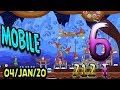 Angry Birds Friends Level 6 MOBILE Tournament 712 Highscore POWER-UP walkthrough #AngryBirdsFriends