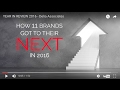 YEAR IN REVIEW - 2016 NEXTS