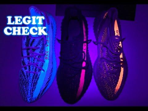 HOW TO LEGIT CHECK YEEZY BOOST 350 V2 ZEBRAS + RED & BELUGA