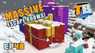 MEGA ESCAPE ROOMS!! | Truly Bedrock Season 2 [48] Minecraft Bedrock