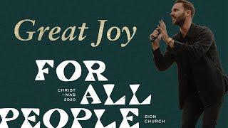 Great Joy   Pastor Jon Krist   Zion Church 2020