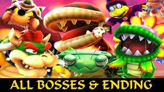 All Bosses & All Stars Ending - Super Mario Galaxy