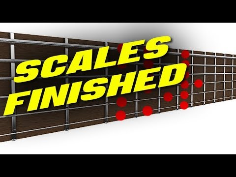 """Guitar Scale """"Finisher"""" (4 STAGES TO KILL 'EM ALL)"""