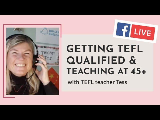 i-to-i WEBINAR   Episode 13: TEFL at 45+