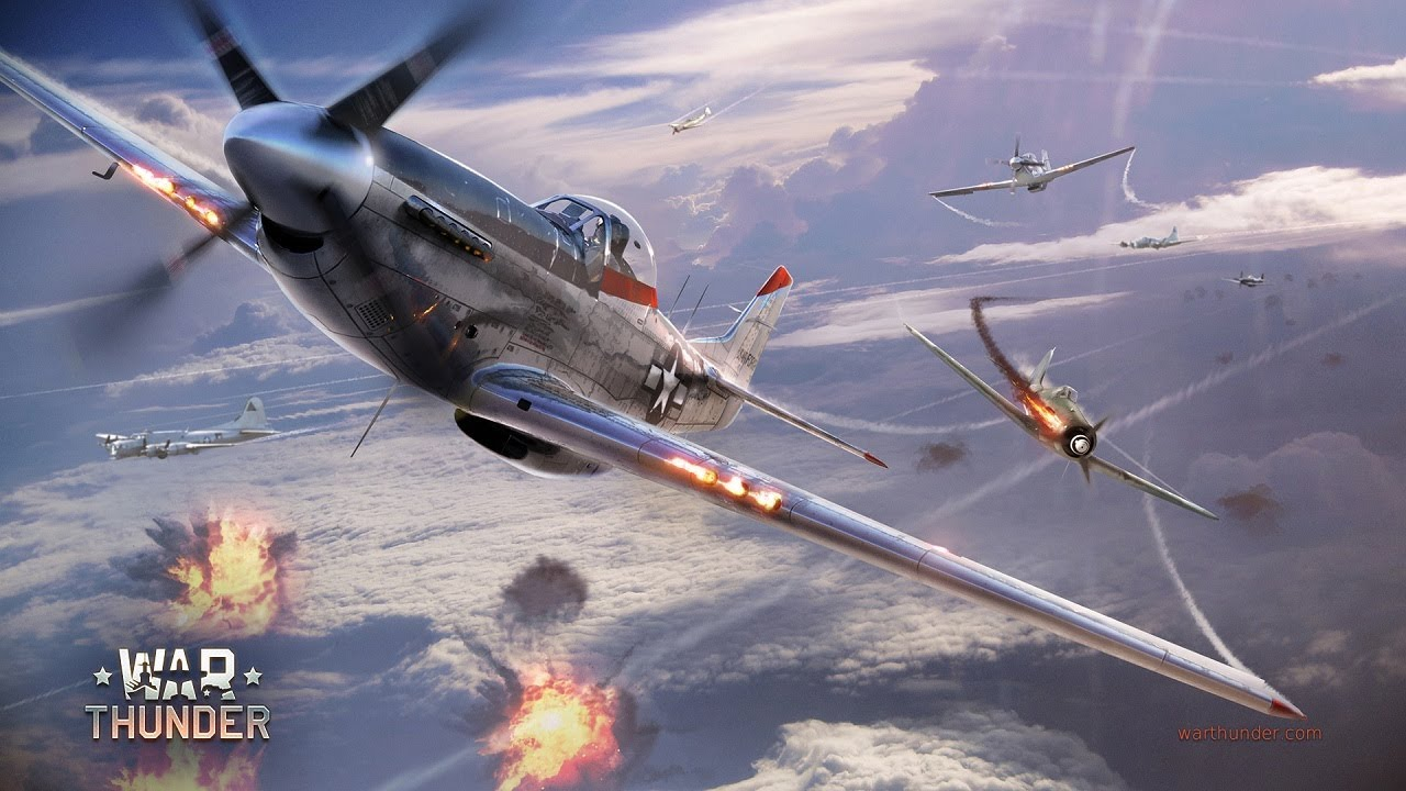 war thunder : p-51 vs me 262 - youtube