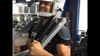 Простенький тренажер для мышц шеи