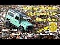 "أغنية MN Model D90 Land Rover: Testing The New 3D Printed 20"" Alloys"