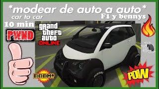 *Modear *car to car* |Facil  y rapido|Gta online*