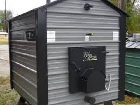 install outdoor wood boiler tutorial youtube