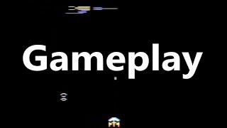 Gorf Atari 2600 Gameplay