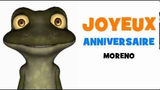 JOYEUX ANNIVERSAIRE MORENO!