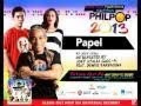 Joey Ayala, Gloc-9 feat. Denise Barbacena and Silverfilter - Papel (Philpop 2013 Teaser)