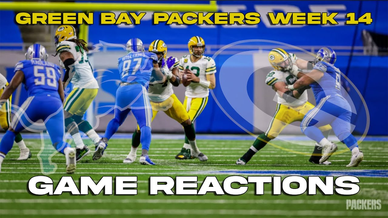 Packers Win The North Beat Lions 31 24 Game Reactions Youtube
