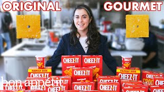 Download Pastry Chef Attempts to Make Gourmet Cheez-Its | Gourmet Makes | Bon Appétit Mp3 and Videos
