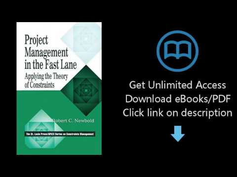 Project Management in the Fast Lane: Applying the Theory of Constraints (The CRC Press Series on Con