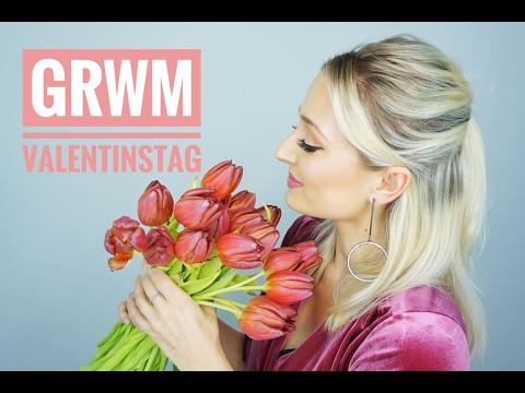valentinstag grwm make up und haare olesjaswelt youtube
