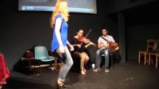 Craiceann 2013 - dance rhythms demo with Caitlin Nic Gabhann