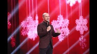 Vă era dor de un număr de stand-up, marca Dan Badea? Comediantul a încheiat marea finală iUmor!