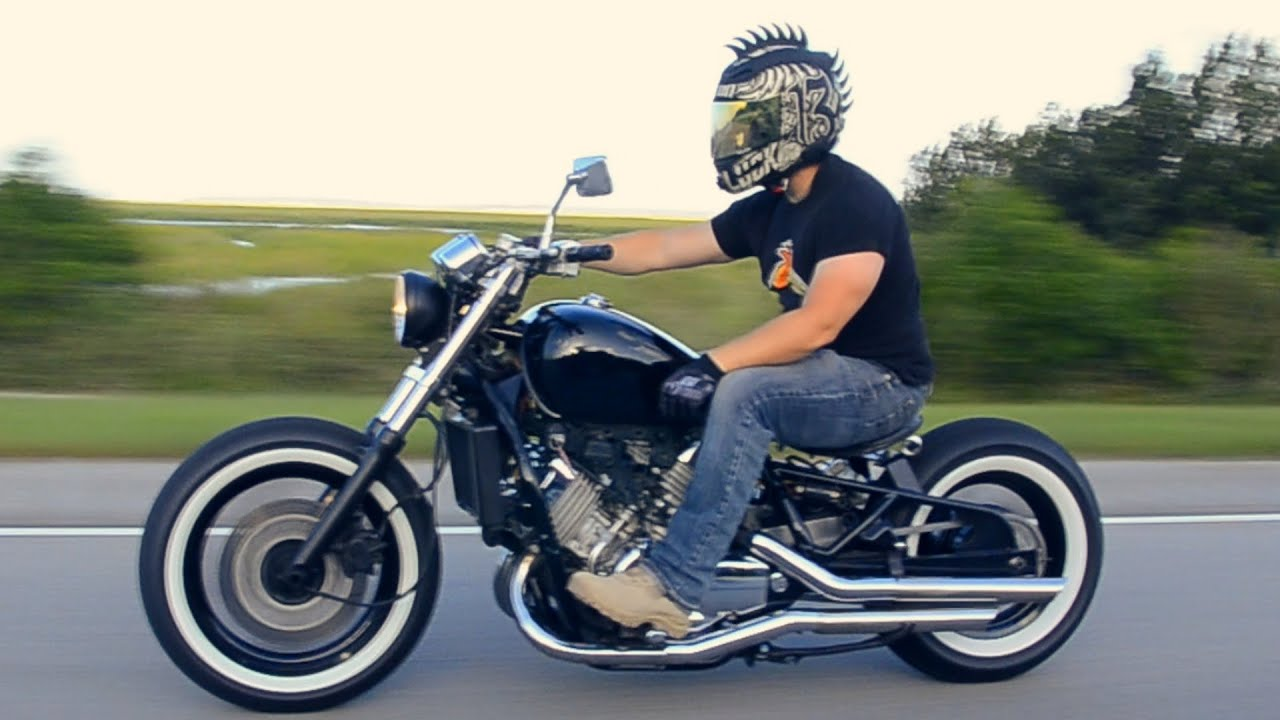Honda Magna Bobber Do It With Dan