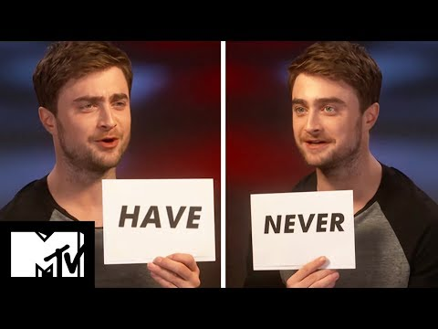 Daniel Radcliffe Plays Never Have I Ever!  MTV