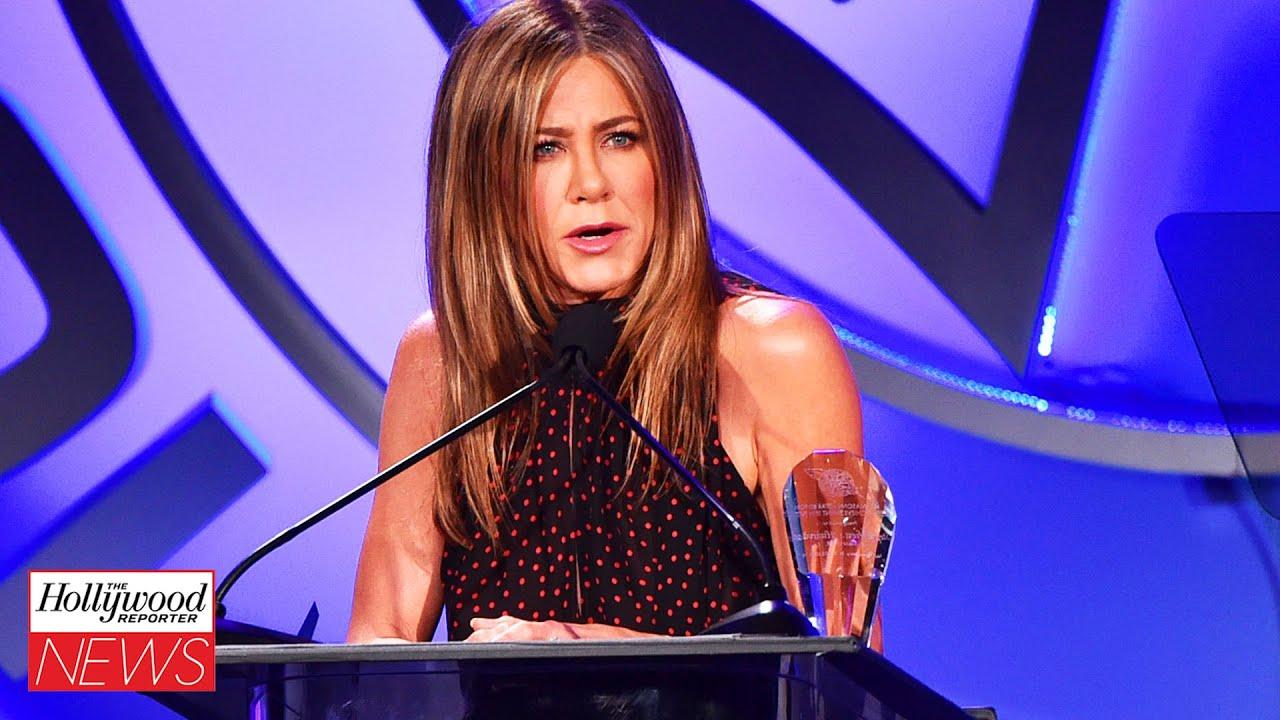 Jennifer Aniston Responds To Critics of Her Firm Vaccine Stance I THR News