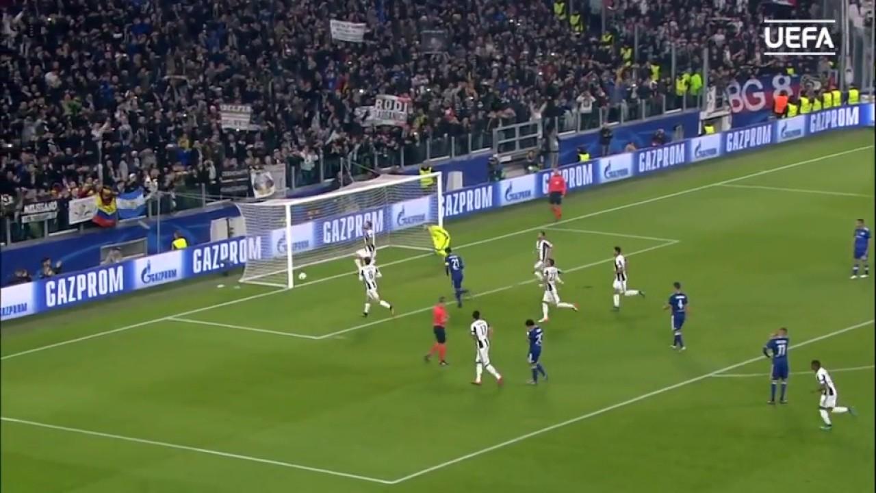 Juventus 1 - 1 Lione UEFA Champions League Highlights ...