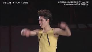 田中刑事 2018全日本EX 「ジョジョの奇妙な冒険」ジョジョ立ちに場内大...