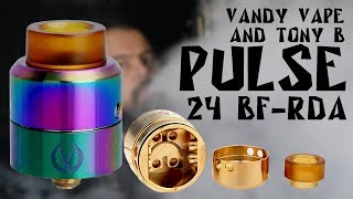 Pulse 24 BF-RDA by Vandy Vape & Tony B l Годная дрипка