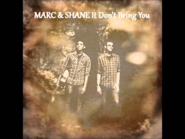 """Marc & Shane """"It Don't Bring You"""" cover (studio version)"""