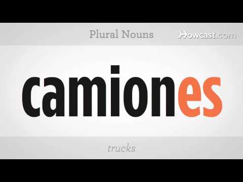 How To Make Plural Nouns | Spanish Lessons