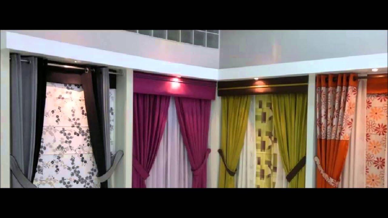 Cortinas cenefa deco servi s a c youtube for Bases para colgar cortinas