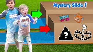Dont Slide Through the Wrong Mystery Box with Lock Stars - Dad Gets Owned | DavidsTV