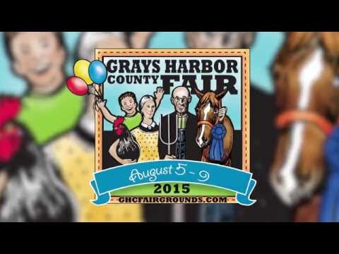 2015 Grays Harbor County Fair Overview TV
