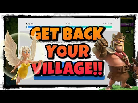 FAILED TO CONNECT WITH SUPERCELL ID?? HOW TO GET UR VILLAGE BACK!!