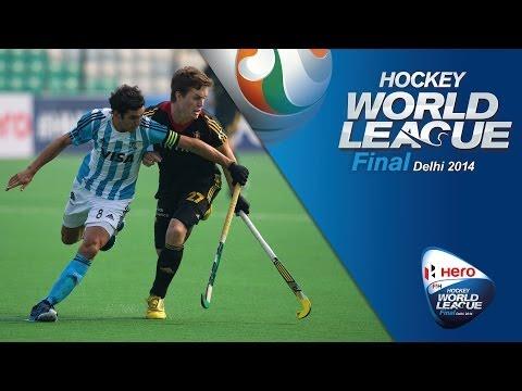 Belgium vs Argentina - Men's Hero Hockey World League Final India Pool B [11/1/2014]