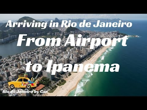 🌄 Rio de Janeiro | from Airport to Ipanema - Leblon -  Barra | #2