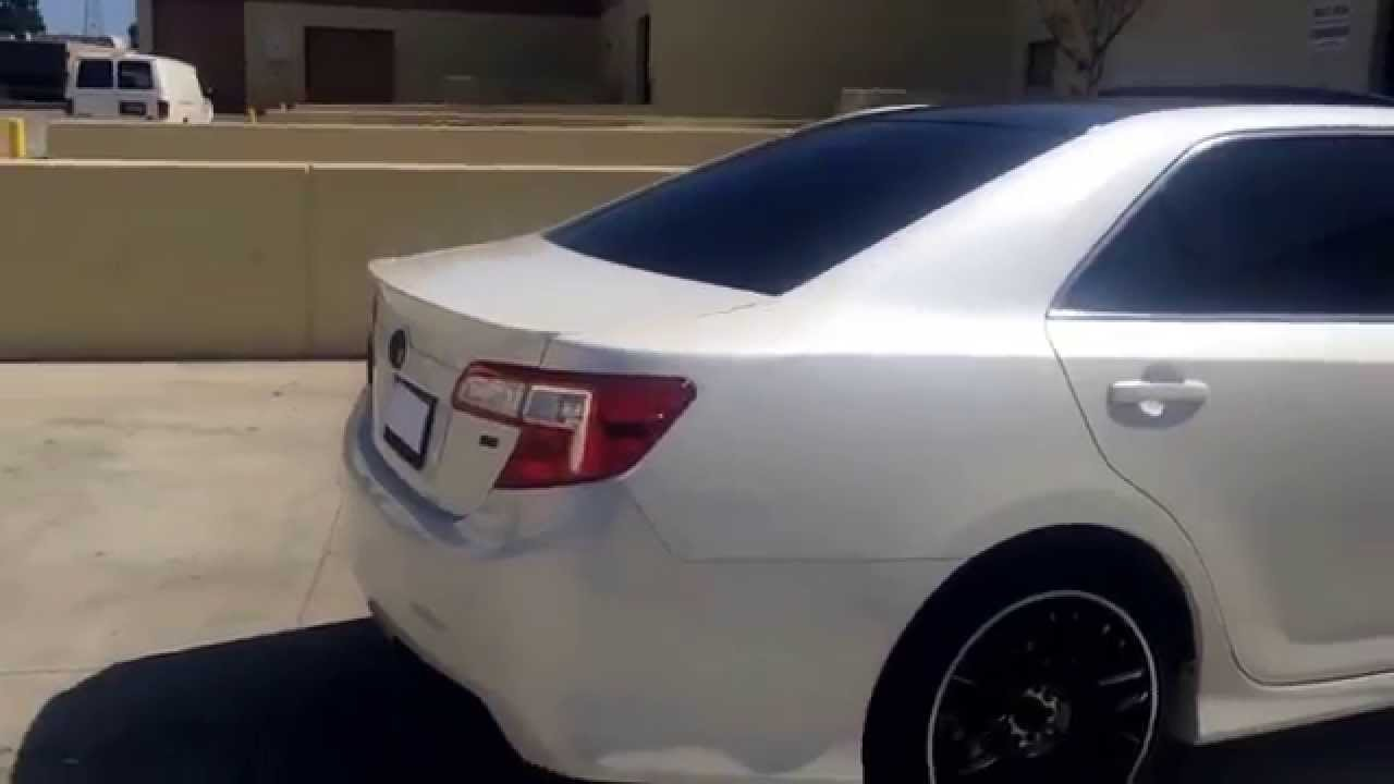 Toyota Silver Camry Le 2011
