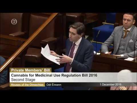 Dáil Éireann. Cannabis for Medicinal Use Regulation Bill 2016