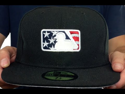 1380ad23571 MLB Umpire 2016  JULY 4TH STARS N STRIPES  Hat by New Era - YouTube