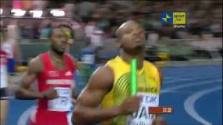 4x100 Relay Mens Final Athletics: World Championships