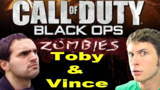 Black Ops: ZOMBIES - Toby and Vince Suck at Gaming